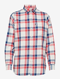 Isa Flannel Shirt - BLUE MULTI CHECK