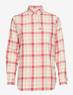Isa Flannel Shirt - PINK MULTI CHECK