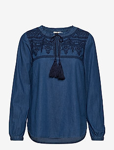 Ruth Tunic - MEDIUM BLUE