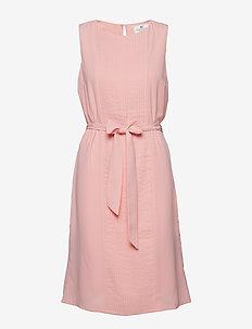 Katie Plisse Dress - MELLOW ROSE