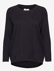 Lea Sweater - DEEP MARINE BLUE