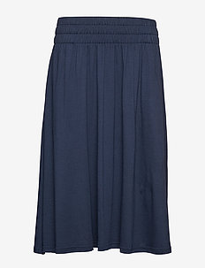 Jenni Jersey Skirt - NAVY BLUE