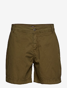 Gail Shorts - chino shorts - khaki green