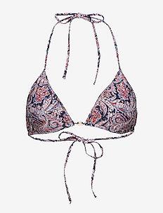 Stephanie Bikini Top - PAISLEY PRINT