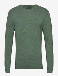 Bradley Crewneck Sweater - GREEN MELANGE