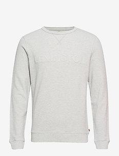 Shane Pique Sweatshirt - LT WARM GRAY MELANGE