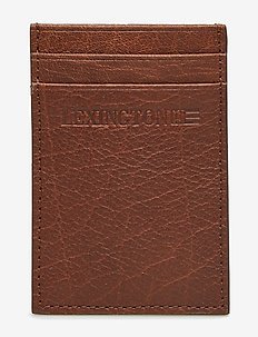 Hobson Leather Cardholder - COGNAC