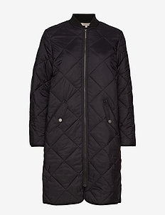 Livia Quilted Jacket - BLACK