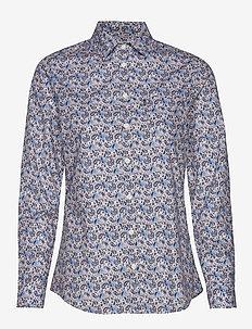 Emily Poplin Shirt - PAISLEY PRINT
