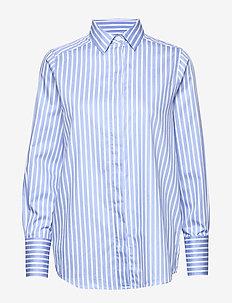 Misha Shirt - BLUE/WHITE STRIPE