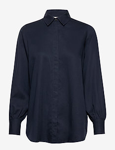 Isolde Lyocell Shirt - DARK BLUE