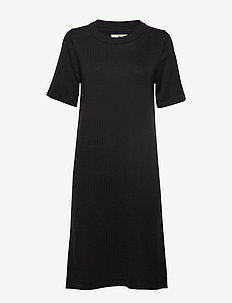 Amy Knitted Dress - BLACK