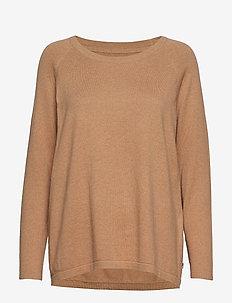 Lea Sweater - BEIGE MELANGE