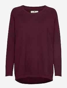 Lea Sweater - DARK RED