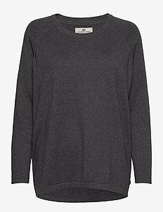 Lea Sweater - GRAY MELANGE