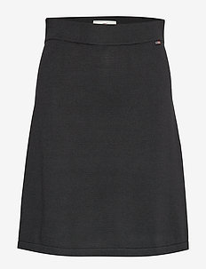 Chastity Knitted Skirt - BLACK