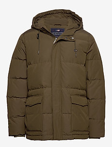 Dave Down Jacket - GREEN
