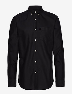 Kyle Oxford Shirt - BLACK