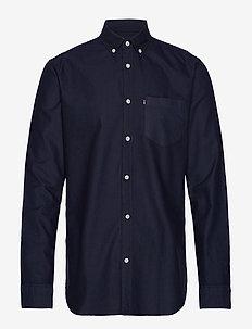 Kyle Oxford Shirt - DARK BLUE