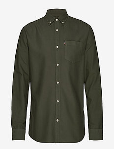 Kyle Oxford Shirt - GREEN
