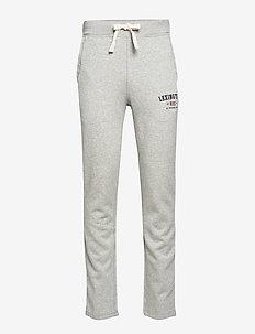 Brandon Jersey Pants - GRAY MELANGE