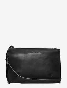 Wingfield Leather Zip Bag - CAVIAR BLACK