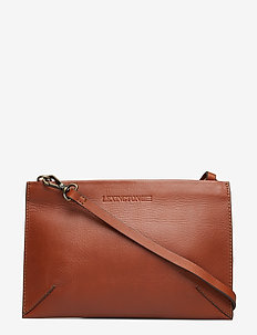 Wingfield Leather Zip Bag - LIGHT COGNAC