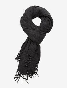 Aurora Wool Scarf - sjaals - dark gray melange