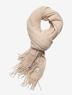Aurora Wool Scarf - skjerf - light beige melange