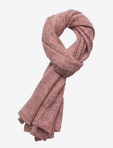 Aberdeen Alpaca Scarf - tørklæder - pink melange