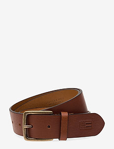Greenville Leather Belt - COGNAC