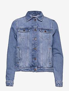 Marcie Blue Denim Jacket - LT BLUE DENIM