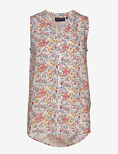 Eve Printed Top - MEADOW PRINT