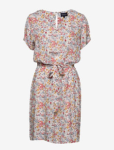 Kristina Meadow Dress - krótkie sukienki - meadow print