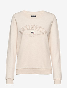 Chanice Sweatshirt - LIGHT BEIGE MELANGE