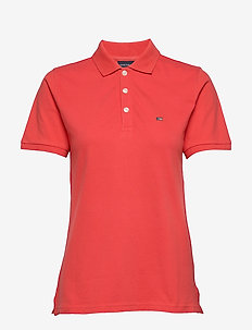 Jess Pique Polo Shirt - polohemden - red