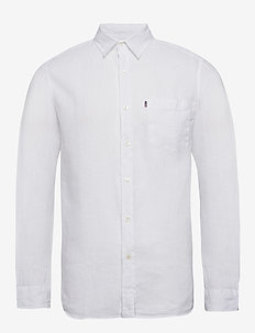 Ryan Linen Shirt - white