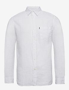Ryan Linen Shirt - WHITE