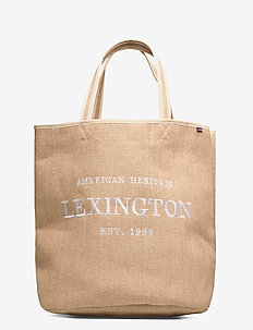 Newton Bag - casual shoppers - beige