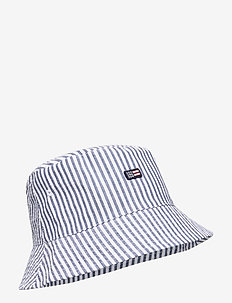 Bridgehampton Seersucker Bucket Hat - BLUE/WHITE STRIPE