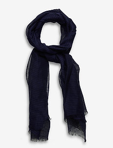 Jackson Scarf - szaliki i chusty - dark blue/blue stripe