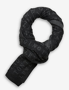 Longwoods Knitted Scarf - schals - gray multi