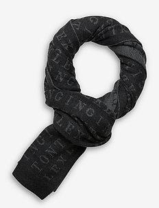 Longwoods Knitted Scarf - szaliki i chusty - gray multi