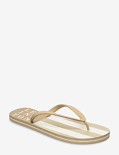 Orlando Flipflop - teen slippers - beige/white stripe