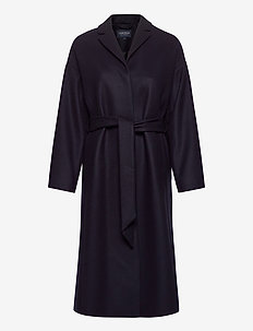 Alice Wool Blend Coat - villakangastakit - dark blue