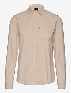 Emily Corduroy Shirt - light beige