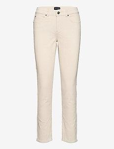 Zoe Corduroy Pants - jeans droites - light beige