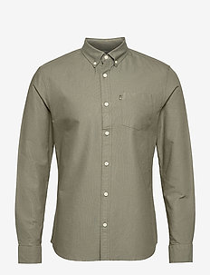 Kyle Organic Cotton Oxford Shirt - basic skjorter - green