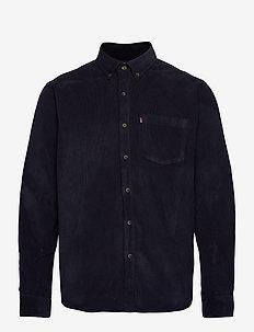 August Cord Shirt - avslappede skjorter - dark blue