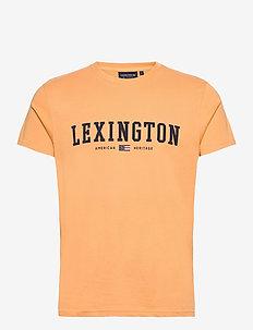 Justin Tee - kortermede t-skjorter - yellow